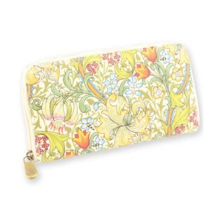 Golden Lily Wallet Purse